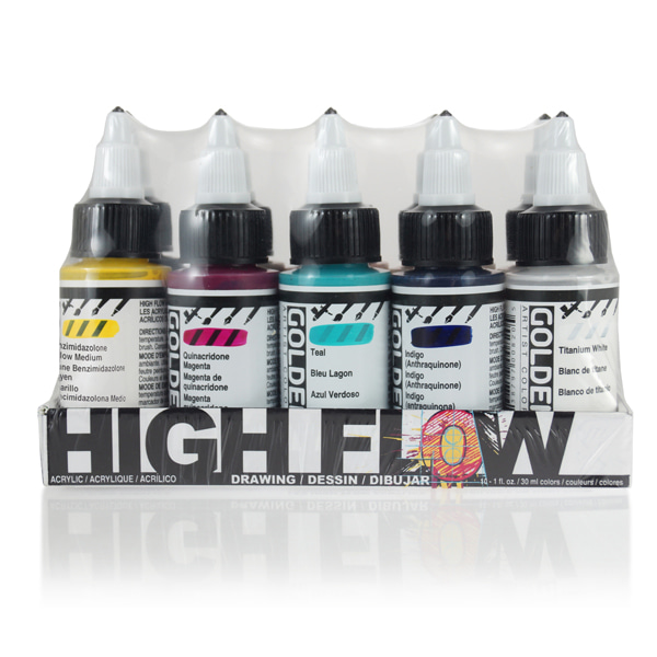 High Flow Drawing Set 30ml*10색