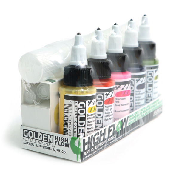 High Flow Marker Set 30ml*5색