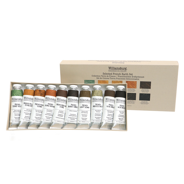French Earths Set 37ml*10color