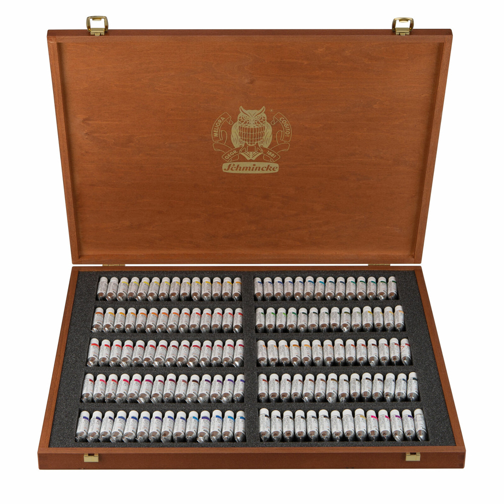 HORADAM Luxury wooden box 5ml*140색