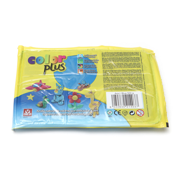 COLOR PLUS 찰흙 500g_파랑