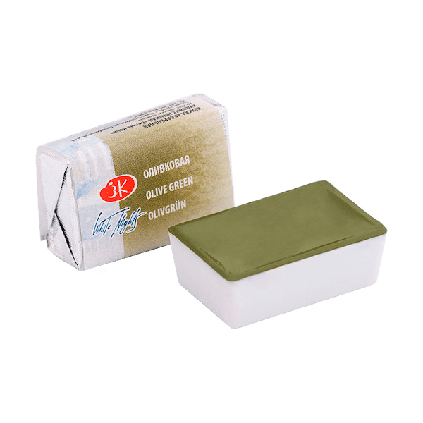 White Nights Pan 2.5ml S1 Olive Green
