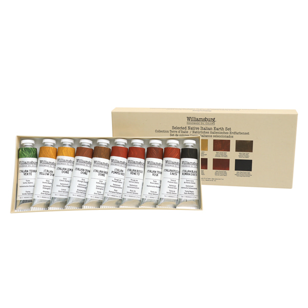 Italian Earths Set 37ml*10color