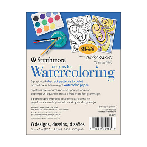 Designs for Watercoloring:디자인