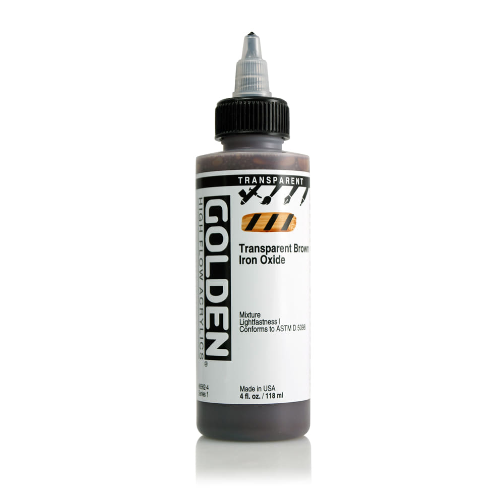 HF 118ml S1 Trans Brown Iron Oxide
