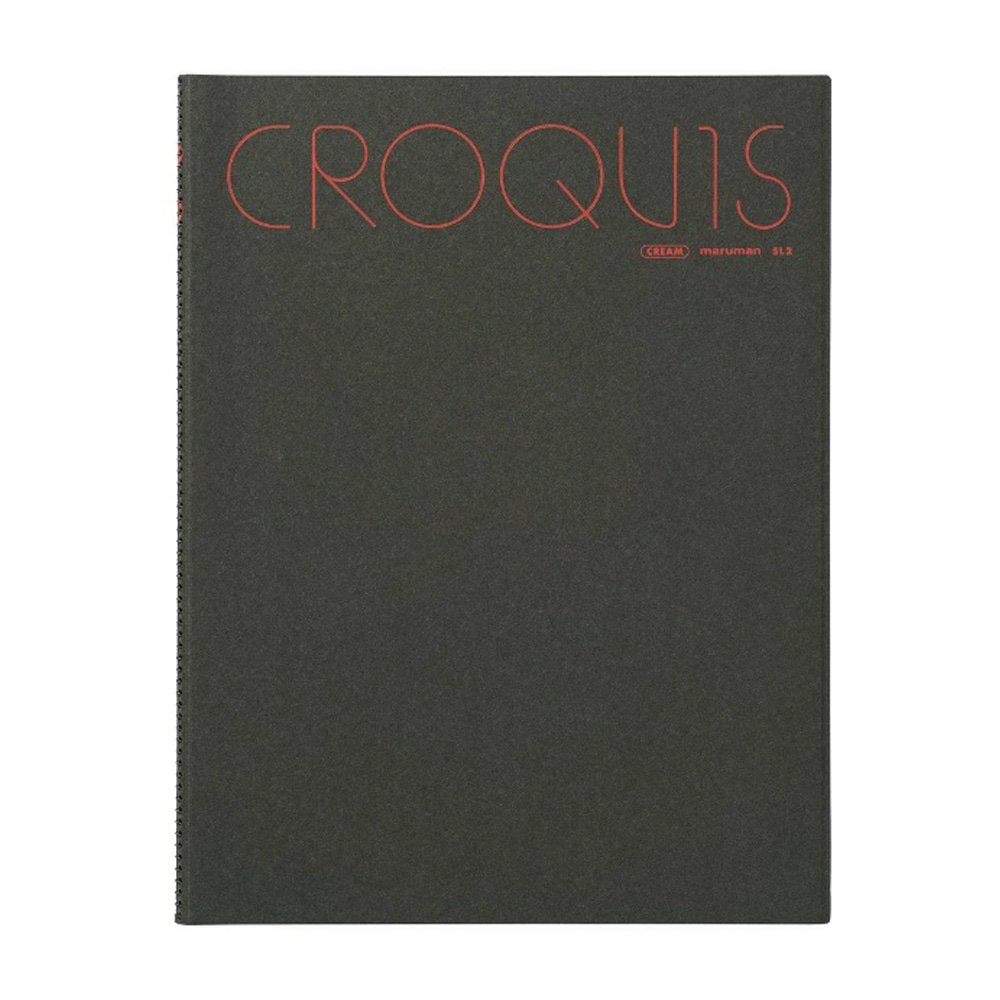 Croquis Large 60g 356x268mm 65매(색상랜덤)