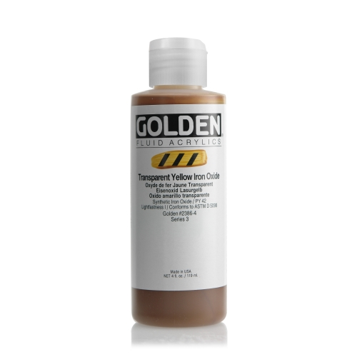 FLUID 아크릴 118ml S3_Transparent Yellow Iron Oxide