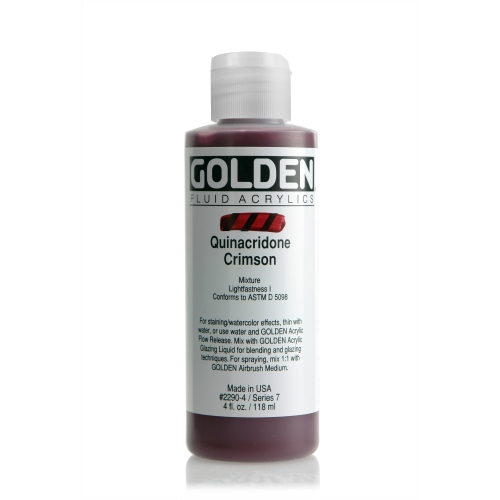 FLUID 아크릴 119ml S7_Quinacridone Crimson