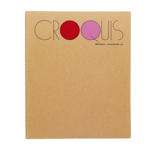Croquis Book Medium(Red) 52.3g 302x242mm 100매