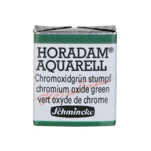 호라담 고체케익 1/2pans 2 Chromium Oxide Green