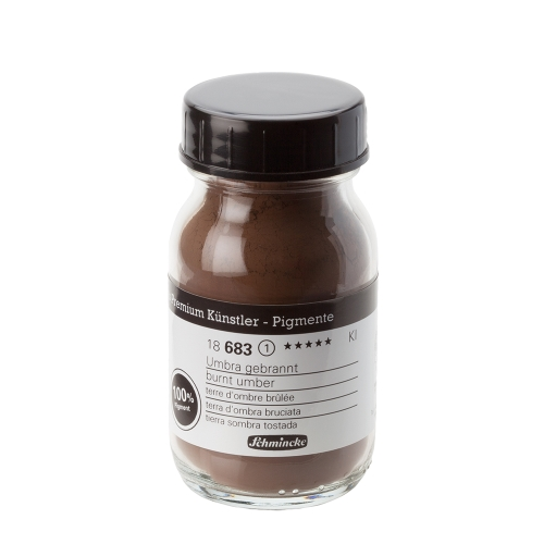 피그먼트 100ml 1_Burnt Umber