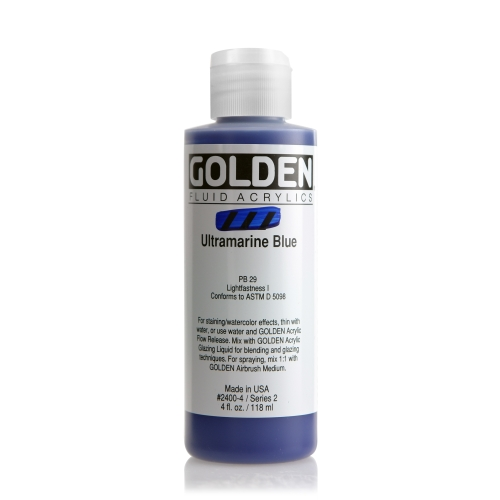 FLUID 아크릴 118ml S2_Ultramarine Blue