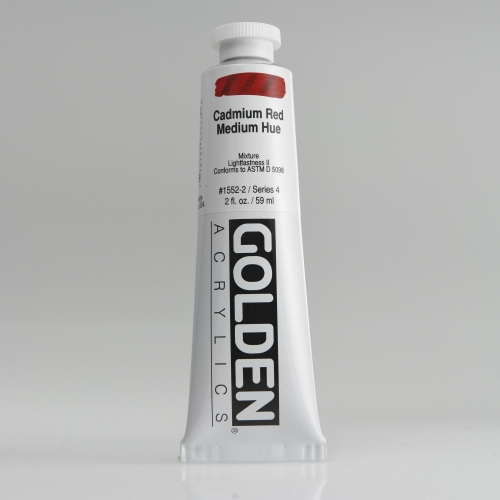 H.B 아크릴릭 물감 60ML S4_Cadmium Red Medium Hue