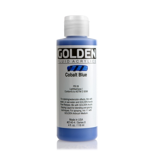 FLUID 아크릴 118ml S8_Cobalt Blue