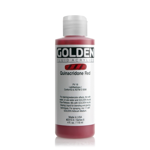 FLUID 아크릴 118ml S6_Quinacridone Red