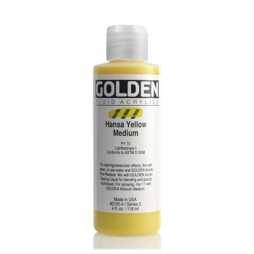 FLUID 아크릴 118ml S3_Hansa Yellow Medium