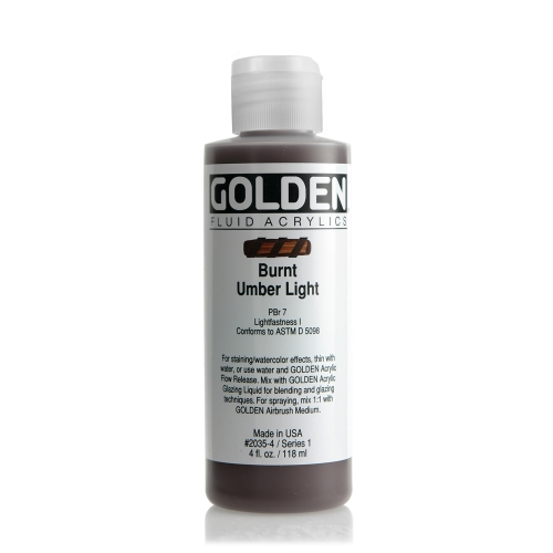 FLUID 아크릴 118ml S1_Burnt Umber Light