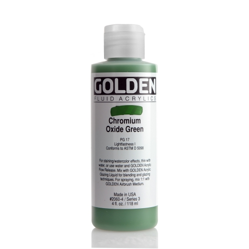 FLUID 아크릴 118ml S3_Chromium Oxide Green
