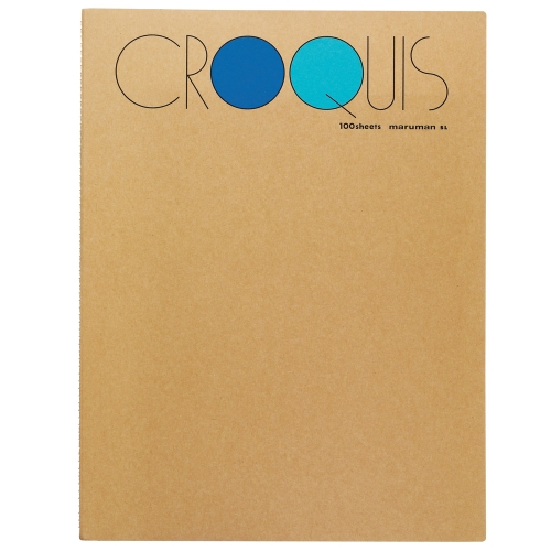 Croquis Book Large(Blue) 52.3g 356x268mm 100매