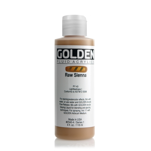 FLUID 아크릴 118ml S1_Raw Sienna