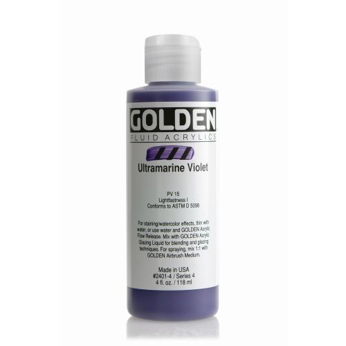 FLUID 아크릴 118ml S4_Ultramarine Violet