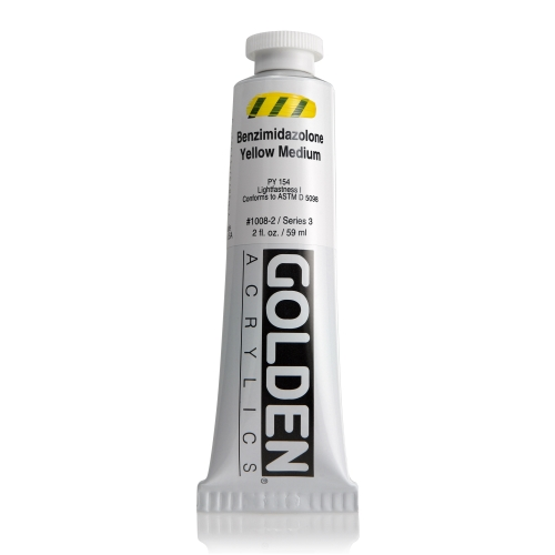 H.B 아크릴릭 물감 60ML S3_Benzimidazolone Yellow Medium