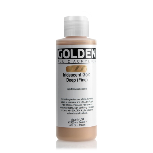 FLUID 아크릴 119ml S7_I.R Gold Deep(Fine)