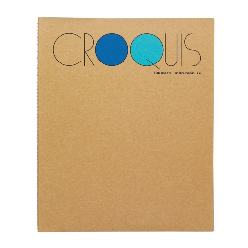 Croquis Book Medium(Blue) 52.3g 302x242mm 100매