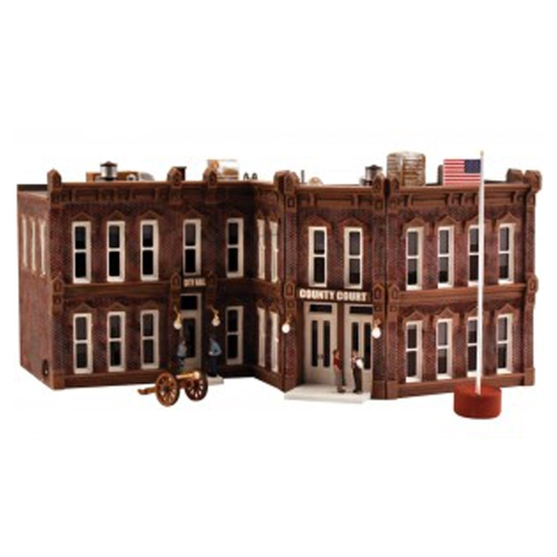 County Courthouse_HO Scale