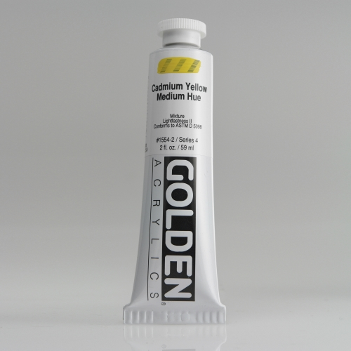 H.B 아크릴릭 물감 60ML S4_Cadmium Yellow Medium Hue