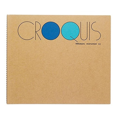 Croquis Book Small(Blue) 52.3g 212x242mm 100매