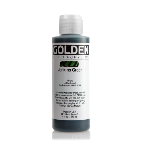 FLUID 아크릴 119ml S7_Jenkins Green
