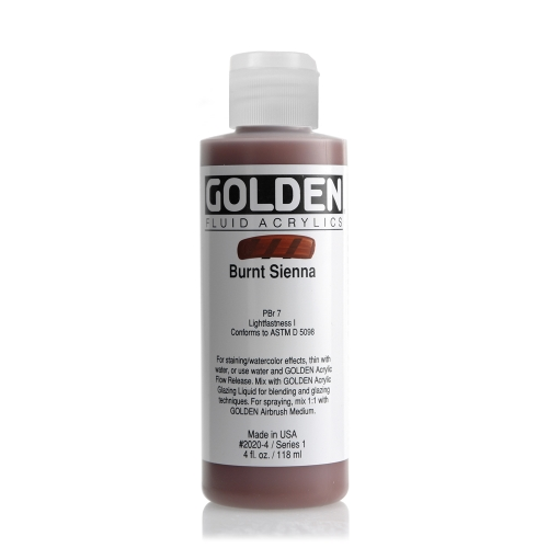 FLUID 아크릴 118ml S1_Burnt Sienna