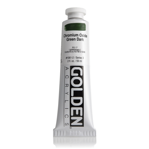 H.B 아크릴릭 물감 60ML S3_Chromium Oxide Green Dark