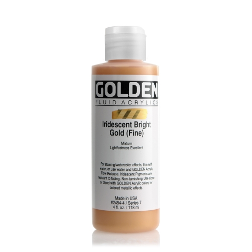 FLUID 아크릴 119ml S7_I.R Bright Gold(Fine)