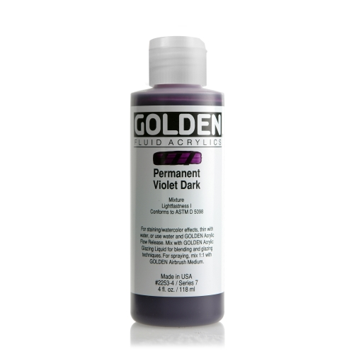 FLUID 아크릴 119ml S7_Pemanent Violet Dark