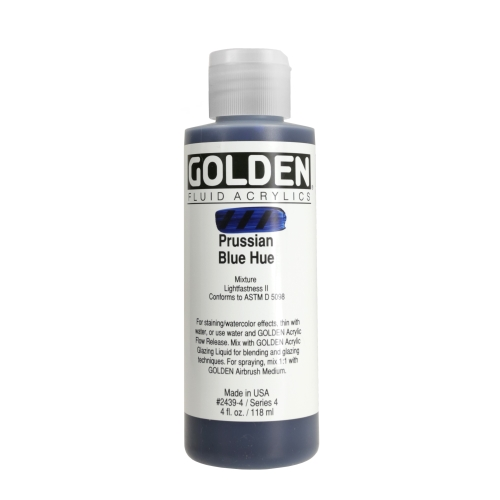 FLUID 아크릴 118ml S4_Hist.Prussian Blue Hue
