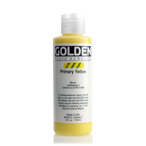 FLUID 아크릴 118ml S2_Primary Yellow
