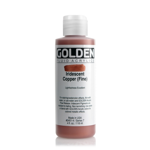 FLUID 아크릴 119ml S7_I.R Copper(Fine)