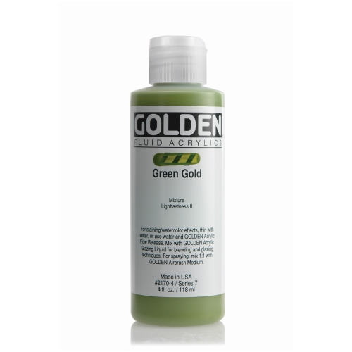 FLUID 아크릴 119ml S7_Green Gold