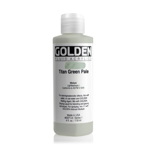 FLUID 아크릴 118ml S1_Titan Green Pale