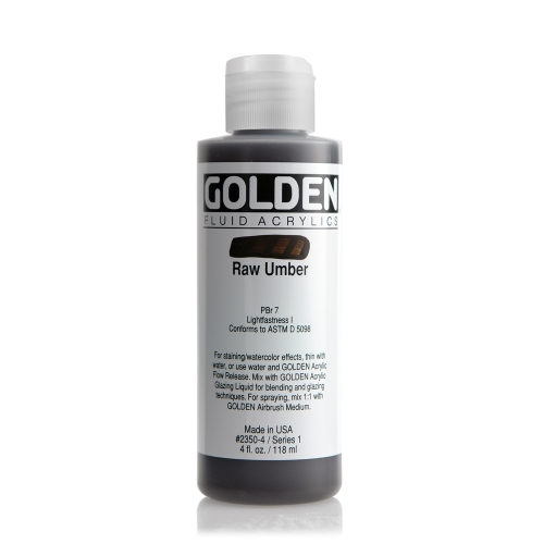 FLUID 아크릴 118ml S1_Raw Umber