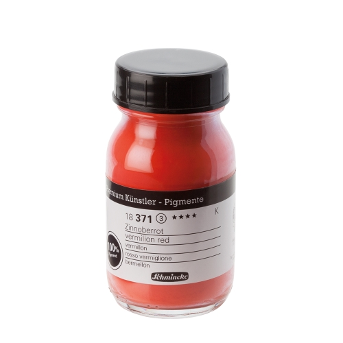 피그먼트 100ml 3_Vermilion Red