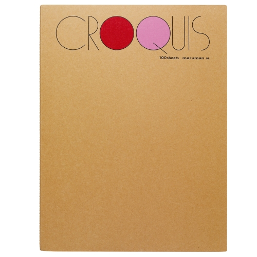 Croquis Book Large(Red) 52.3g 356x268mm 100매